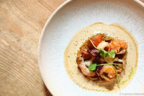 Foies gras poissons et crustacés pour les fêtes (Ecole de cuisine)