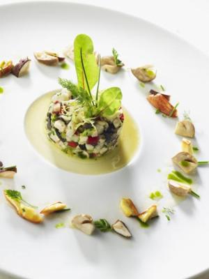 Prestige et champignons par R Marcon (Ecole de cuisine)
