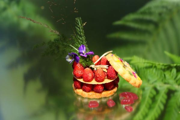Tartes et entremets de printemps (Ecole de cuisine)