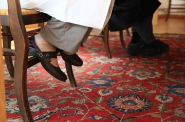 Les pieds sous la table (Ecole de cuisine)