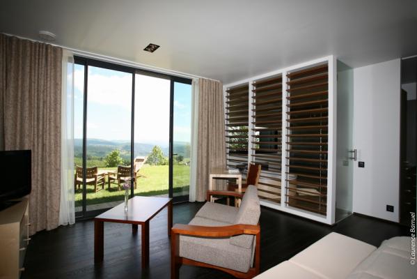 Chambre Suite Luxe 1 ou 2 personne(s) (Hôtel 4 étoiles Régis & Jacques Marcon)